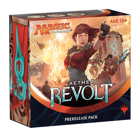 Magic The Gathering - Aether Revolt Pre-release Packs