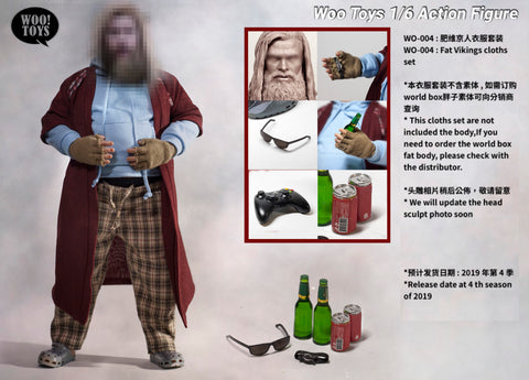 Woo! Toys - Fat Viking Action Figure