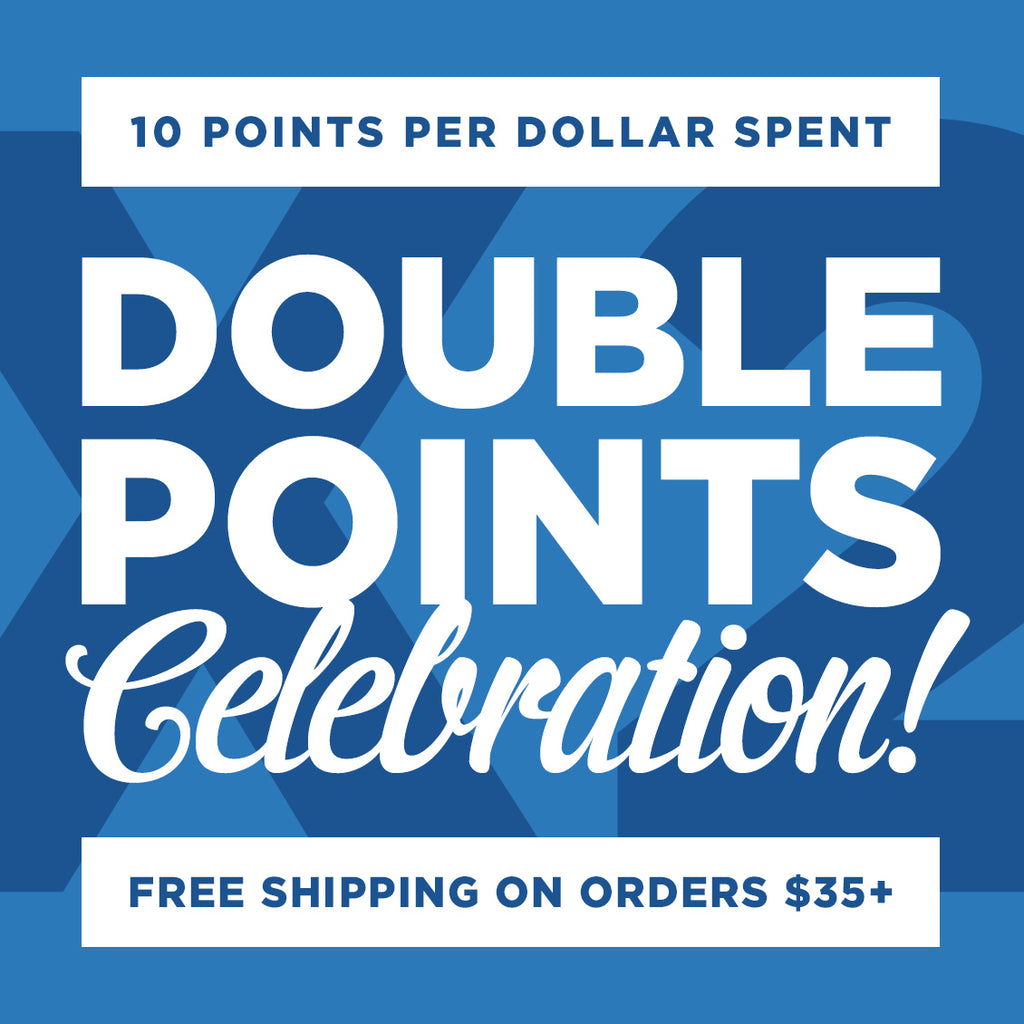 Ultimate long weekend! Double points + free shipping + hardware discounts
