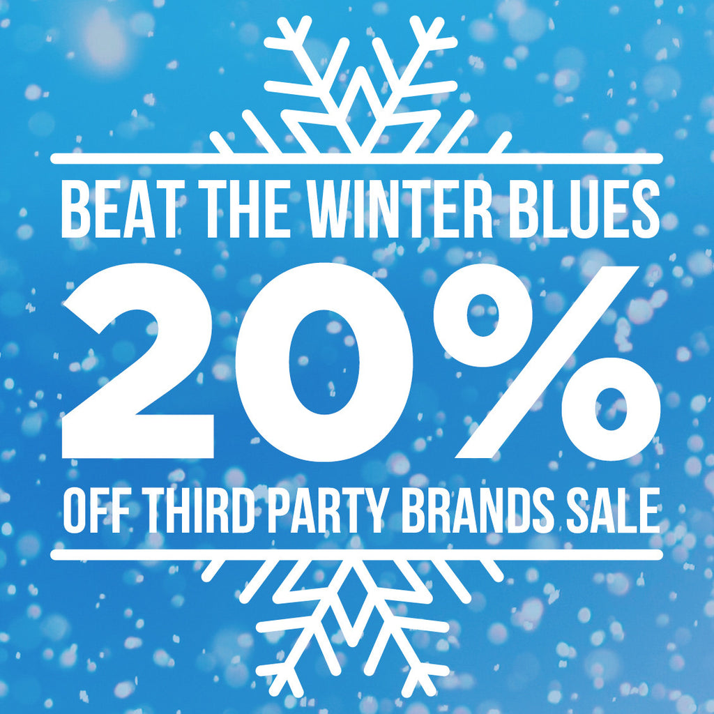 Beat the winter blues with huge savings!