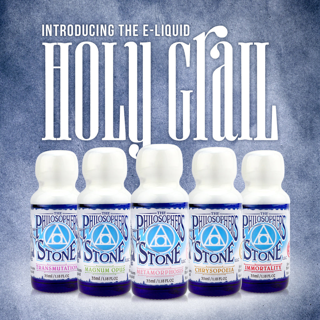 Sought for Centuries, the Holy Grail of Max VG e-liquid