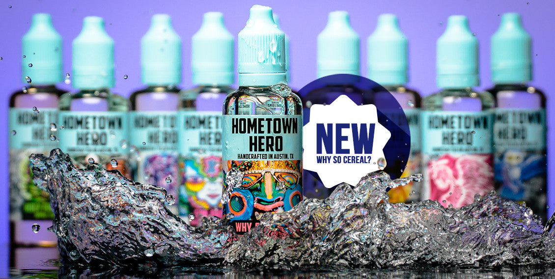 Hometown Hero Why So Cereal? e-liquid