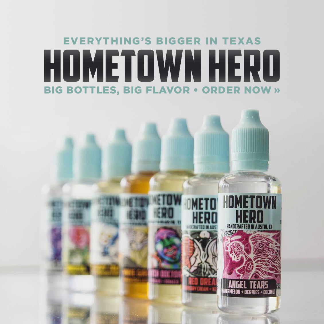 Hometown Hero: Big Bottles, Big Flavor. Order now.