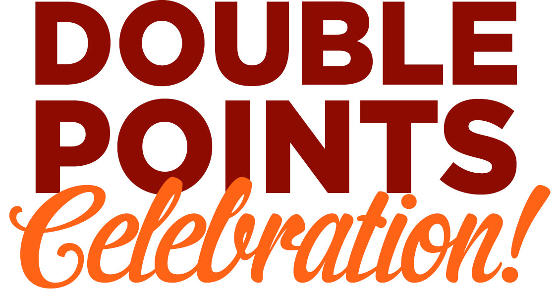 Double Points Celebration