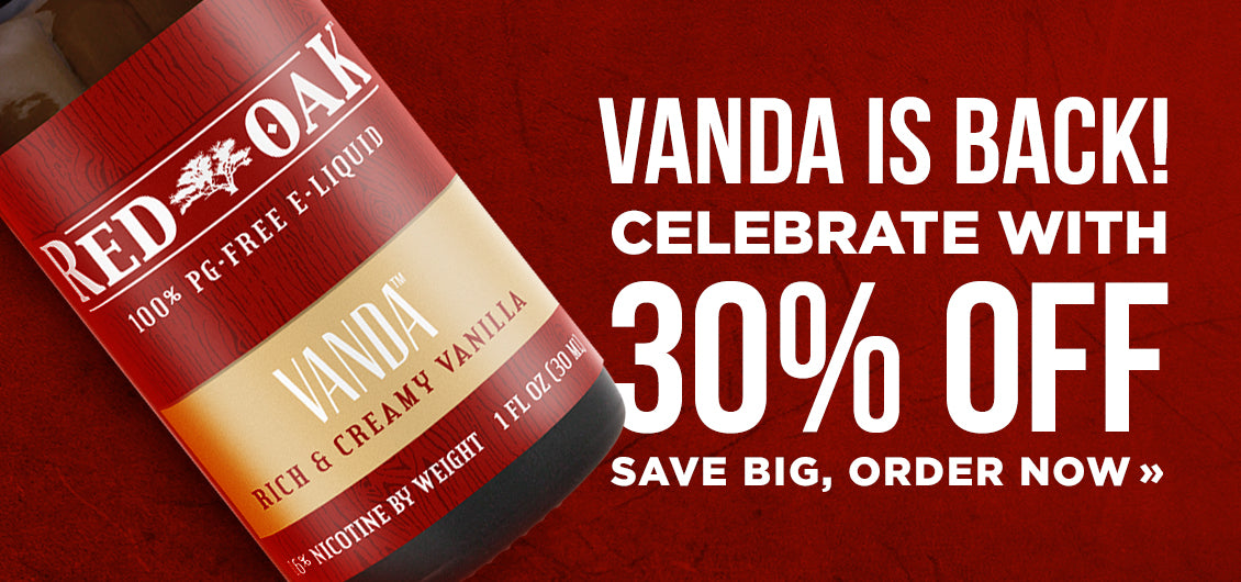 Vanda is back! 30% off. Order now: