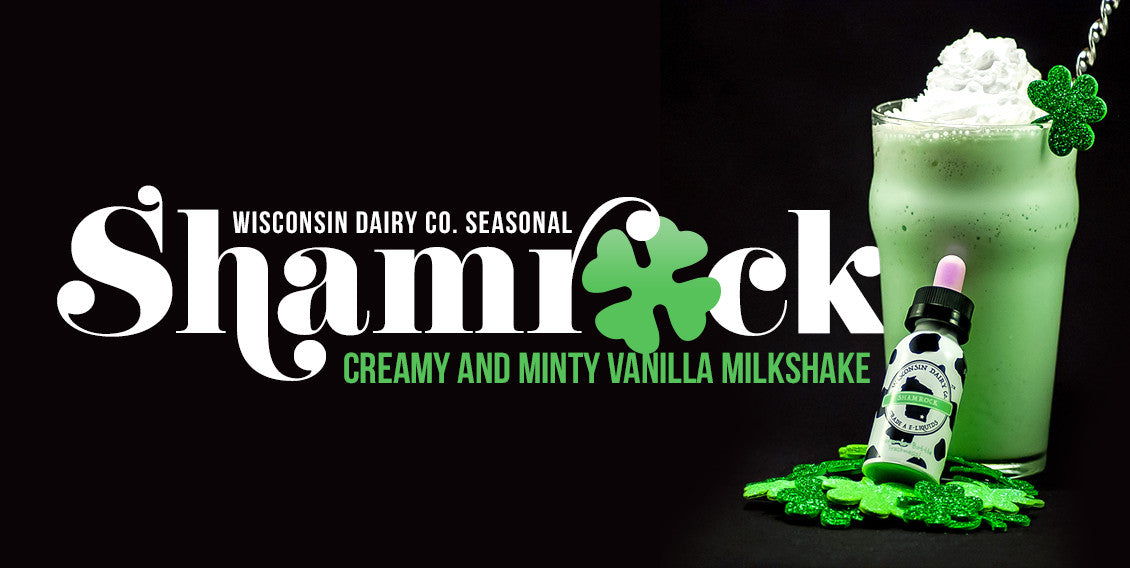 Wisconsin Dairy Co. Shamrock e-liquid