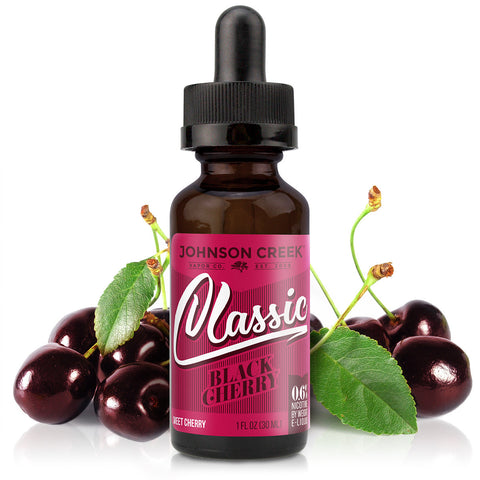 30mL bottle picture. Dark and tart this cherry e-Liquid doesn't skimp on the flavor.