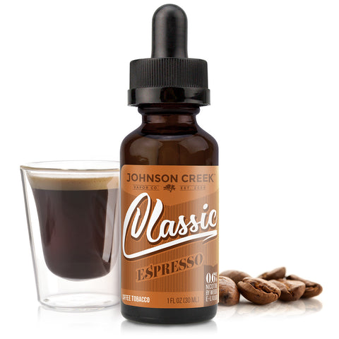 30mL bottle picture. Rich tobacco flavors wrapped around natural coffee beans and rounded off with creamy natural vanilla.