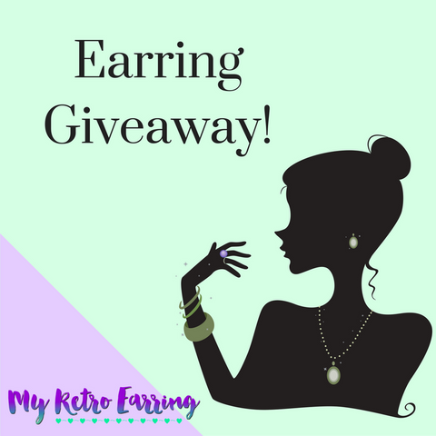Earring giveaway! Win $50 in free earrings!