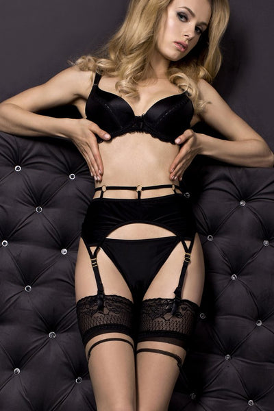 Studio Collants 315 Garter Belt with Thong