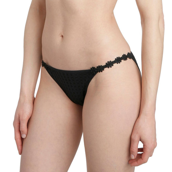 Marie Jo Avero Low-Waisted Brief - Black - Heidi's Boutique