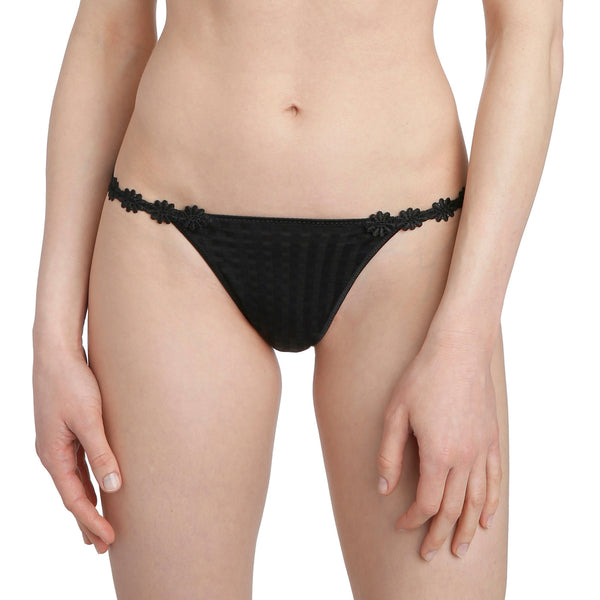 Marie Jo Avero Thong - Black - Heidi's Boutique