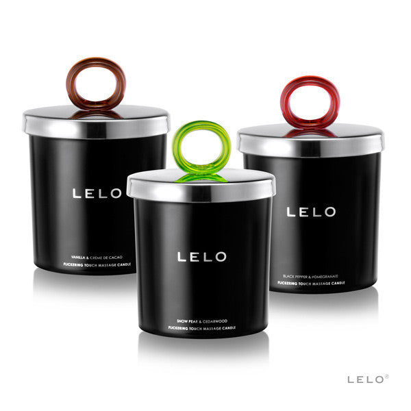 LELO Flickering Touch Massage Candle - Heidi's Boutique