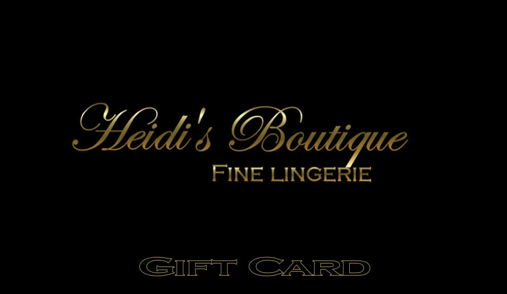 Gift Card - Heidi's Boutique