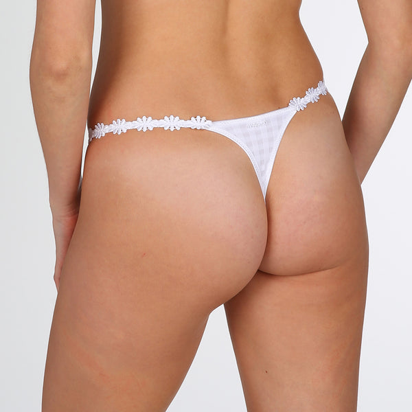 Marie Jo Avero Thong - White