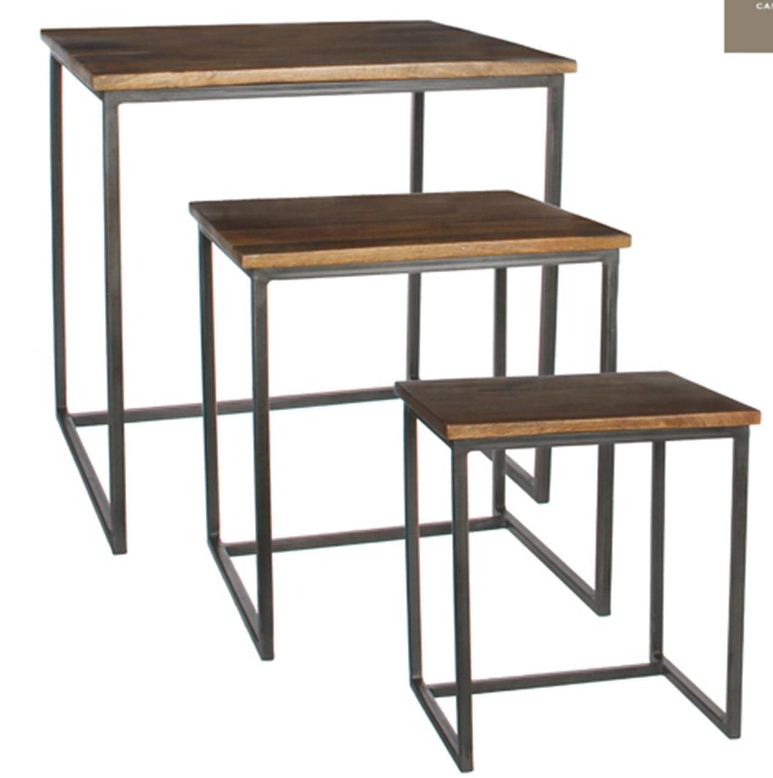 Harvey Stacking Side Table (Set Of 3)