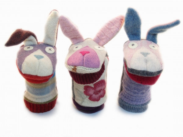 Puppets (Reclaimed Wool & Fleece)