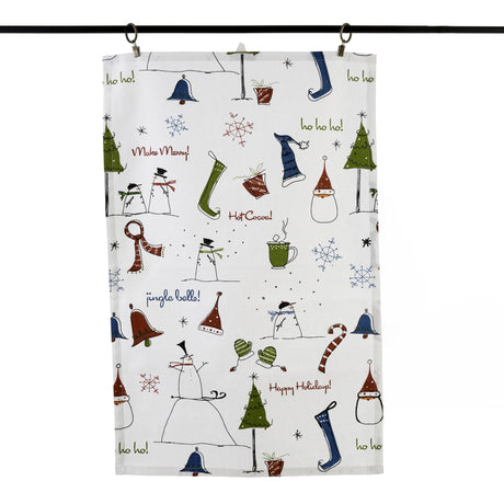 Frosty Kitchen Towel