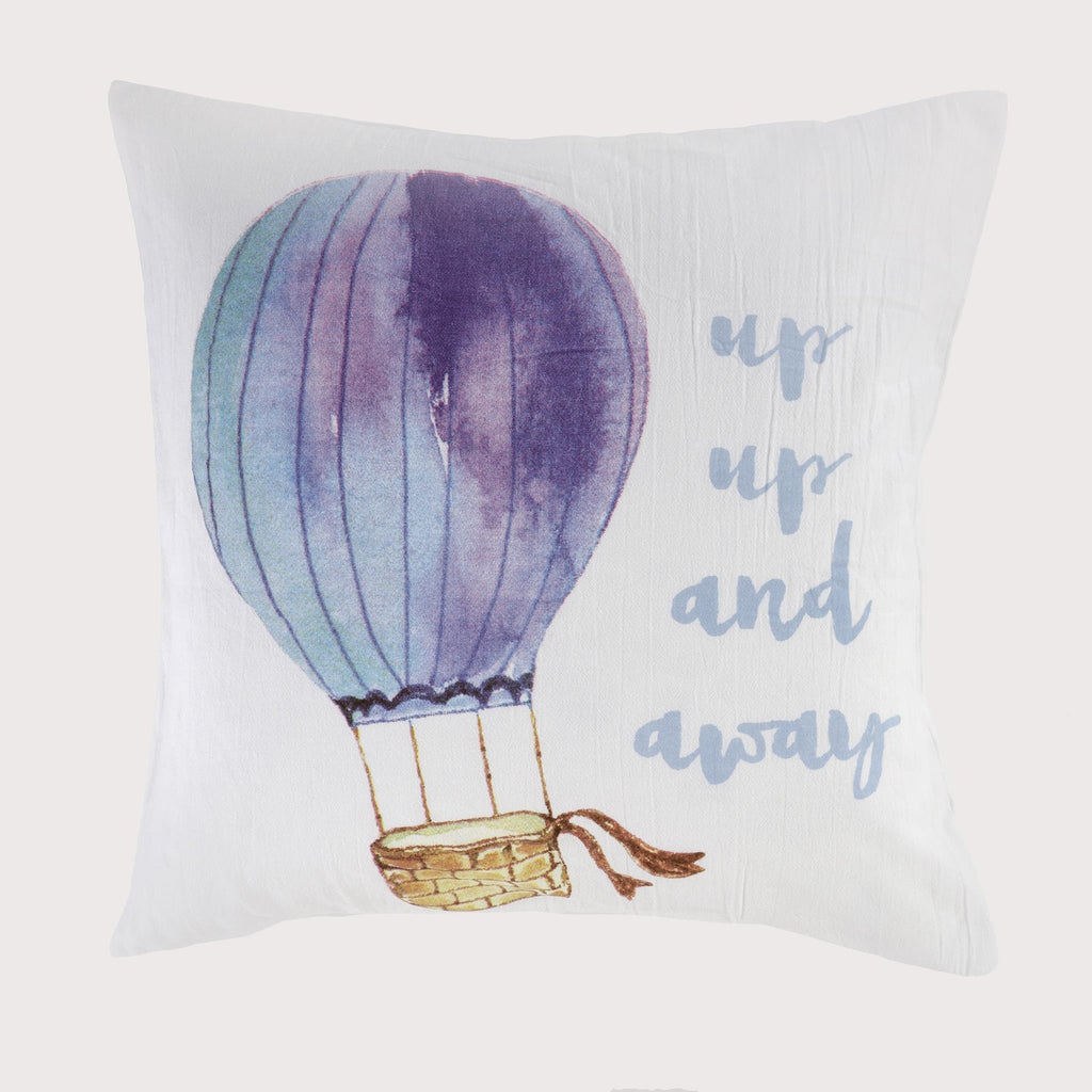 Pillow- Up, Up & Away - 45 cm  x 45 cm