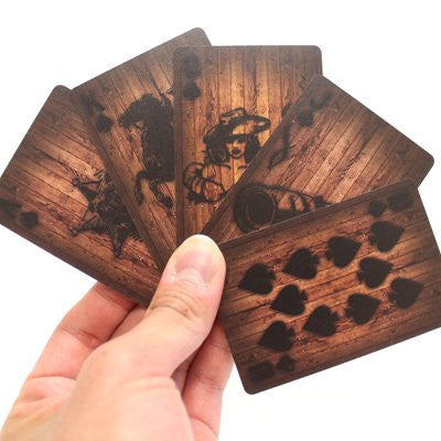 Wood Look Deck of Playing Cards