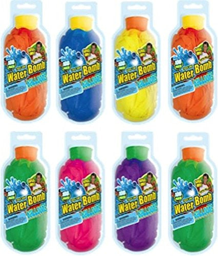 Water Bomb Balloons with Filler (100 pcs)