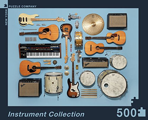 Puzzle - Instrument Collection (500 pcs)