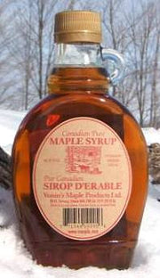 Maple Syrup Glass Jug