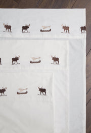 Wilderness Embroidered Sheets