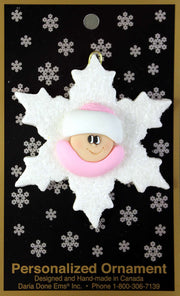 Ornament - Snowflake Babies Collection