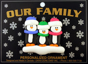 Ornament - Penguin Family Collection