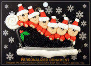 Ornament - Sleigh Family Collection