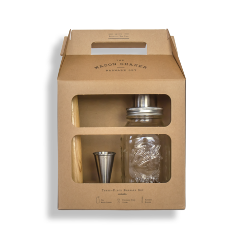The Shake Barware Set (4 Pieces)