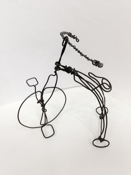 Sculpture with wire: 5/23 Argenziano Fundraiser
