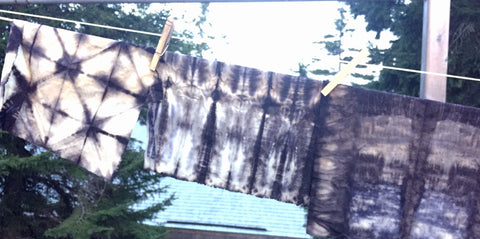 Rusty Bits: Natural Dyeing with found objects 7/8