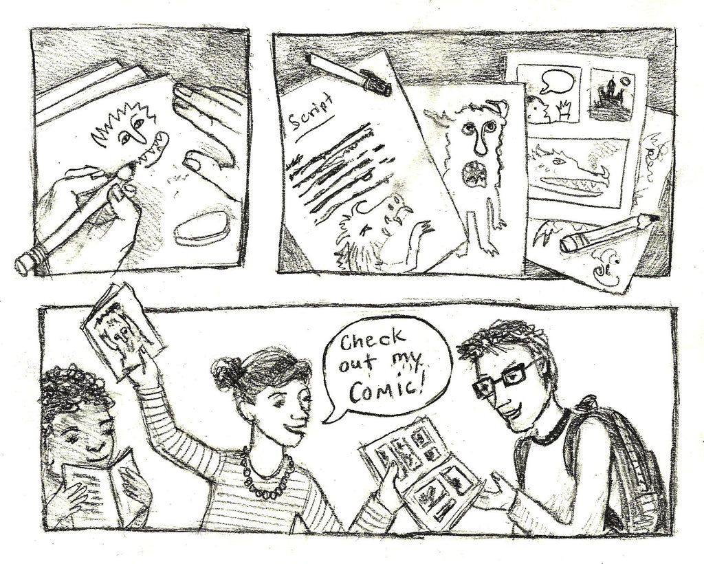 YOUR STORY: Graphic Novels, Comix & Fanzines  (This Fall on Wednesday Crafternoons)