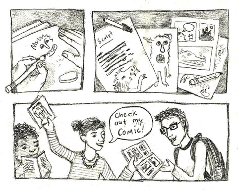 YOUR STORY: Graphic Novels, Comix & Fanzines  (This Fall on Tuesday Crafternoons)