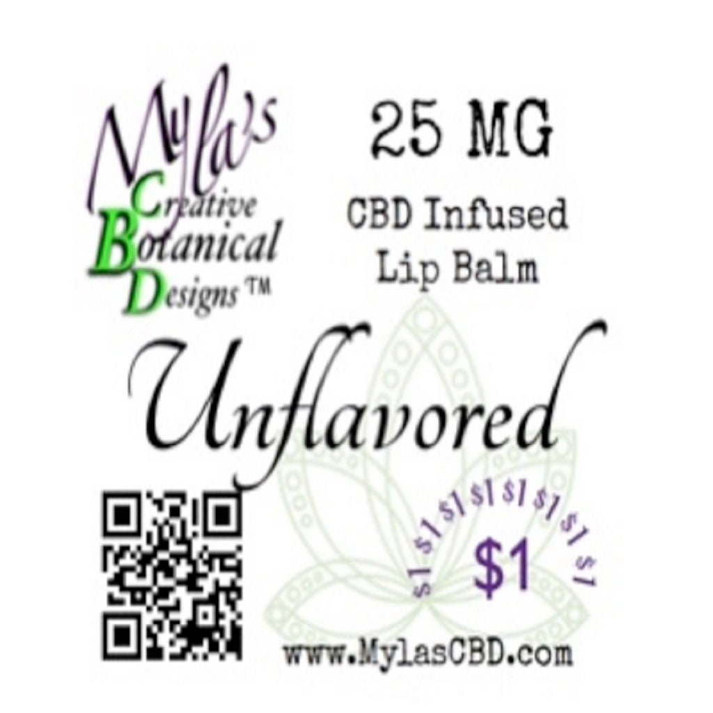 Myla's Creative Botanical Designs CBD Infused Lip Balm