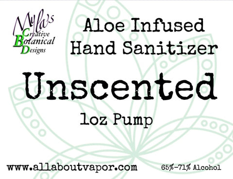 Aloe Infused Hand Sanitizer (1oz Pump)