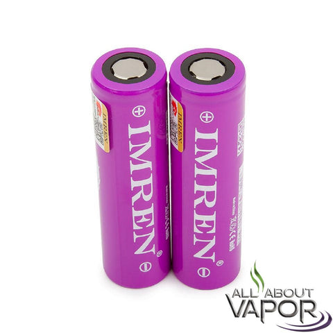 IMREN 18650 3.7V 2500mAh Battery 40 AMP