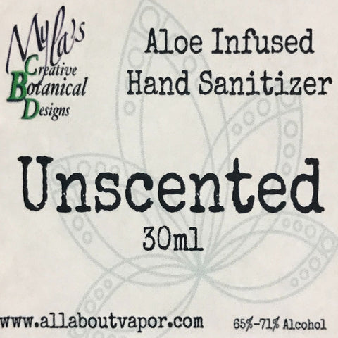Aloe Infused Hand Sanitizer (30ml)