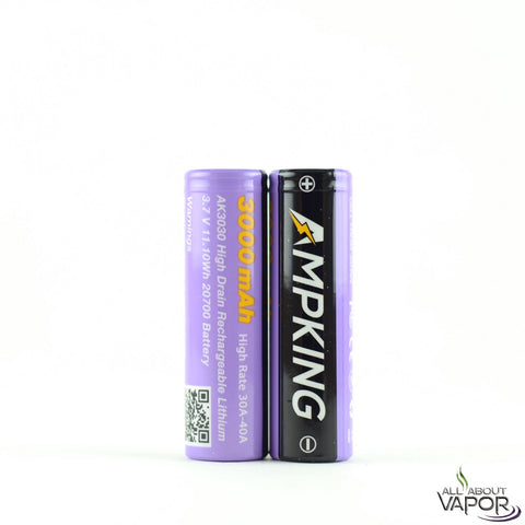 Ampking AK3030 3000mAh 20700 Battery