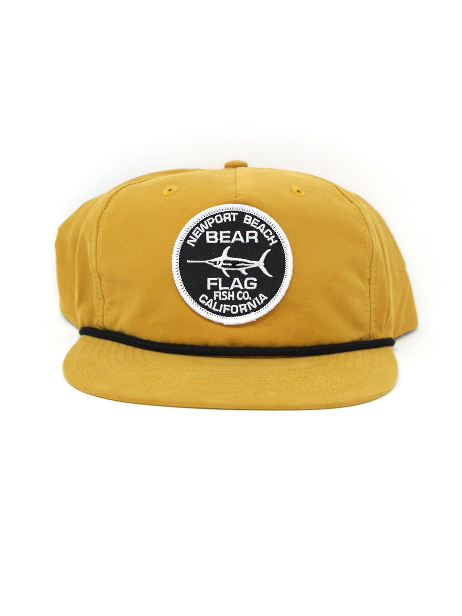 Newport Patch Hat - Bear Flag Fish Co.