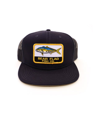 The Catch Mesh Trucker Hat — Navy - Bear Flag Fish Co.