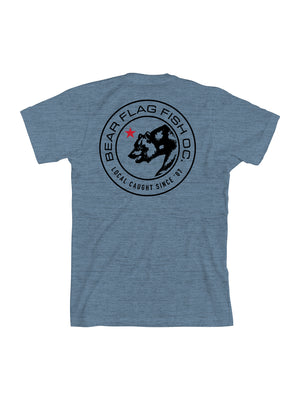 The Emblem Short Sleeve T-Shirt - Bear Flag Fish Co.