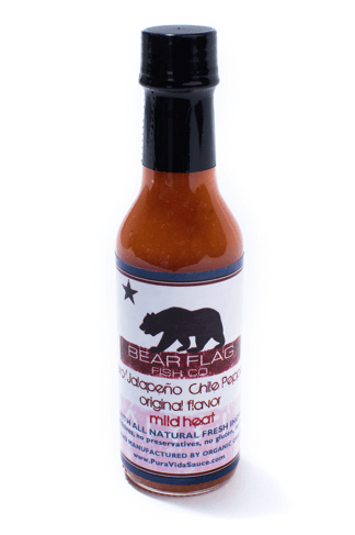 Bear Flag Hot Sauce - Mild Heat - Bear Flag Fish Co.