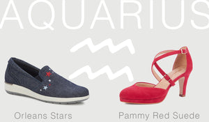 SHOE STYLE HOROSCOPES: AQUARIUS – JANUARY 20 – FEBRUARY 18