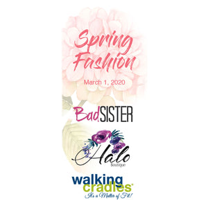 A Sunday Funday Fashion Show with Bad Sister & Halo Boutique!