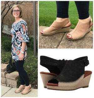 Anikka Wedge Review from BarkingDogShoes.com