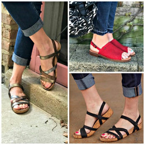 Barking Dogs Blog Recommends Our Summer Sandals!
