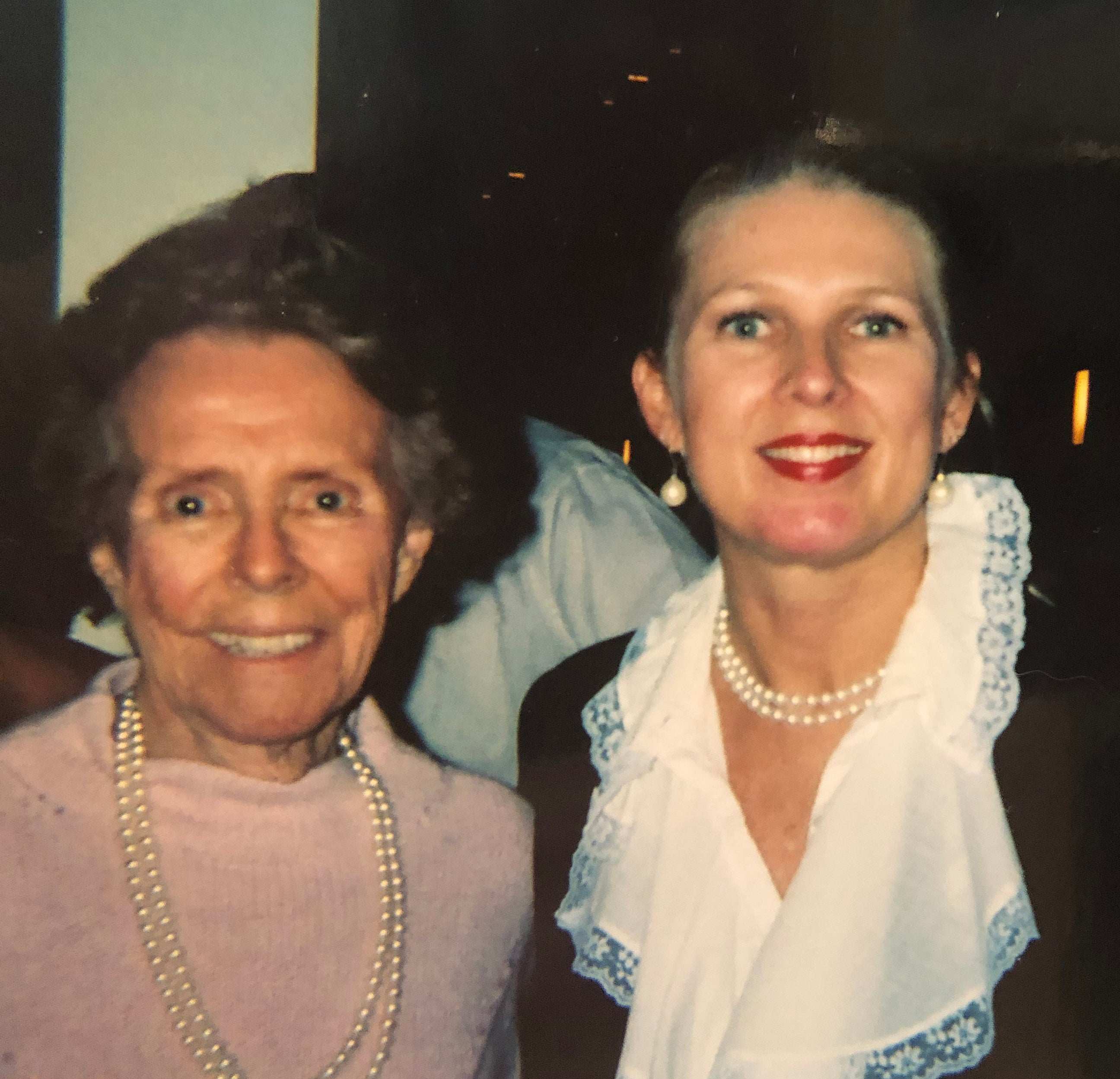 Kasey Bergh with Eileen Ford